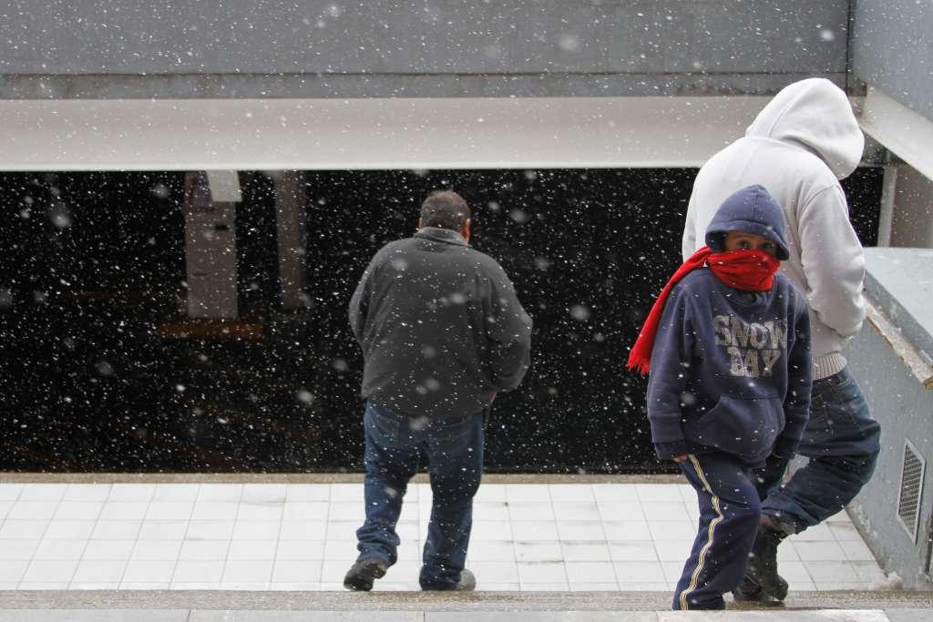 El Frente Frío 51 y la 13 Tormenta Invernal generarán caída de nieve y aguanieve en zonas serranas de Chihuahua. Foto: Cuartoscuro