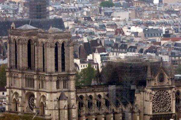 La Catedral de Notre Dame es uno de los monumentos más visitados en Paris. Foto: AP