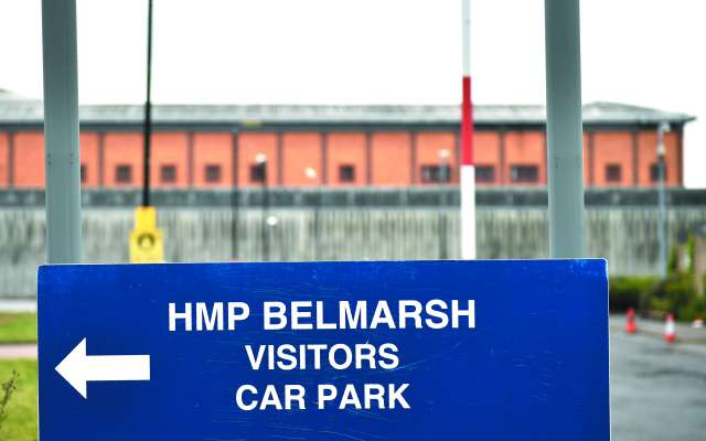 La prisión Belmarsh acoge a reclusos que son de interés mediático.FOTO:ESPECIAL