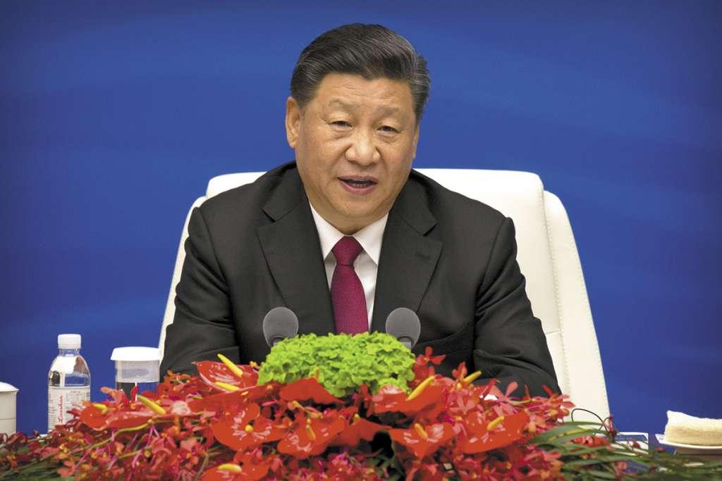 ANFITRIÓN. El presidente de China, Xi Jinping, será el encargado de ofrecer el discurso inaugural. Foto: AFP