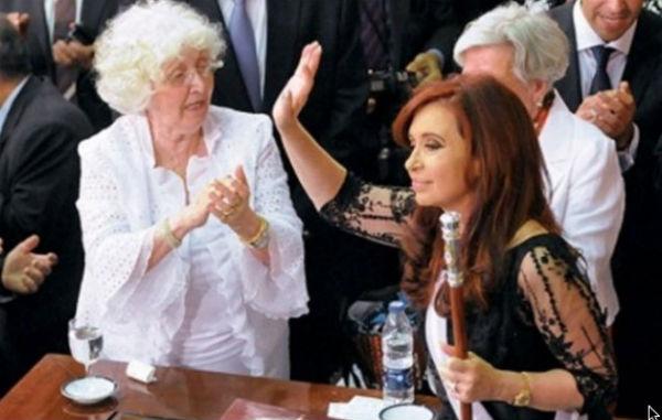 La madre de la ex presidenta fue fanática del futbol. FOTO:ESPECIAL