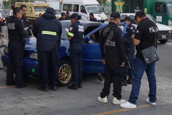 Policías estatales y federales implementaron el operativo rastrillo en Huehuetoca, Jaltenco, Nextlalpan, Tecámac, Tonanitla y Zumpango. Foto: Especial