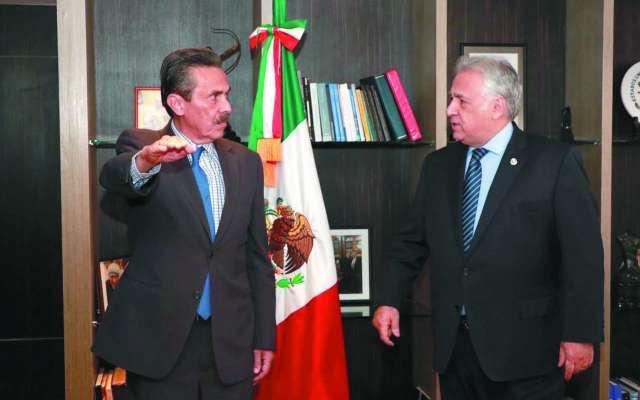 Torruco presidió la ceremonia de toma de cargo.FOTO:ESPECIAL
