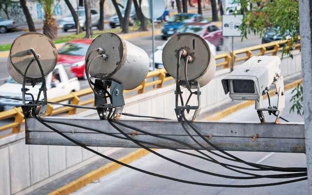 OJO VISOR. Se informó que se reubicaron 138 cámaras y 80 radares de velocidad. CUARTOSCURO