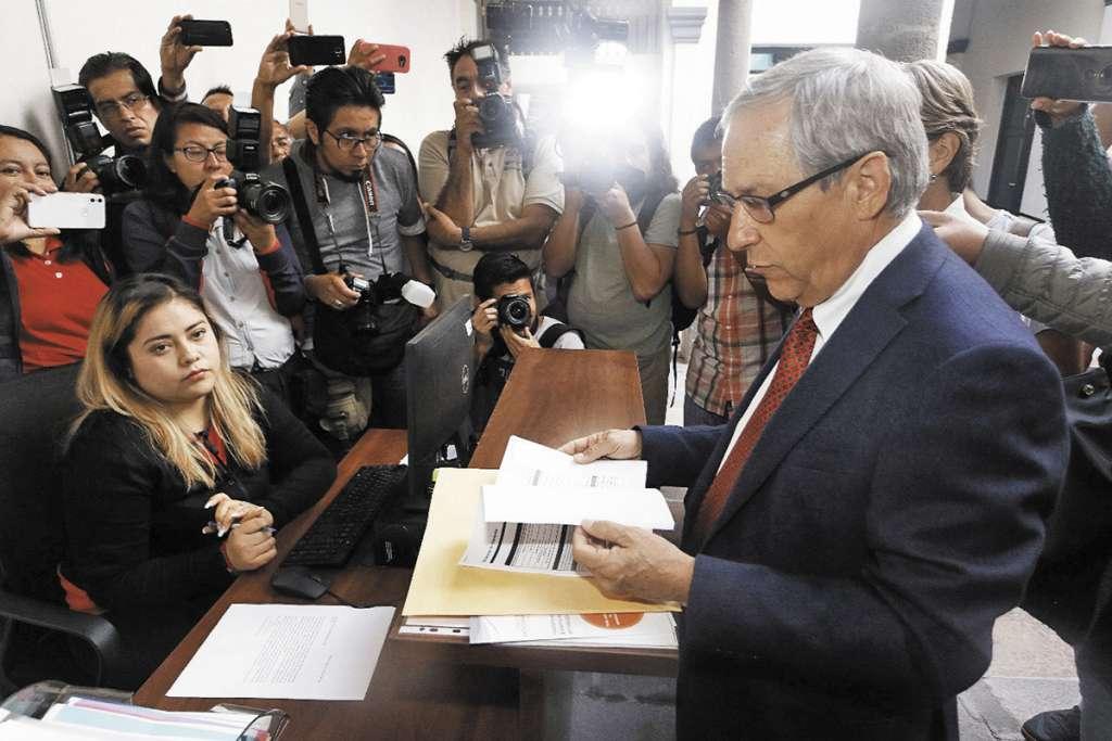 Cárdenas presentó su informe el 1 de abril al Sistema Estatal Anticorrupción.FOTO: ESPECIAL