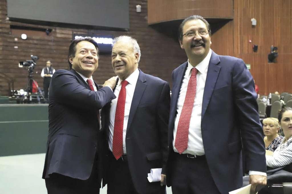 El histórico líder del PT tuvo que intervenir en la negociación y salvar la bancada de Morena.FOTO: ESPECIAL
