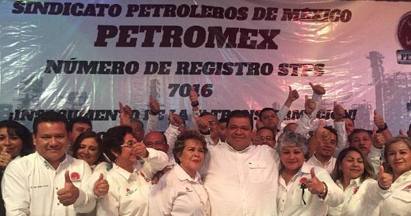 Detalló que al obtener el registro legal con el número 7016 ante la STPS, Petromex se convirtió en el segundo sindicato dentro de Petróleos Mexicanos. Foto: Especial