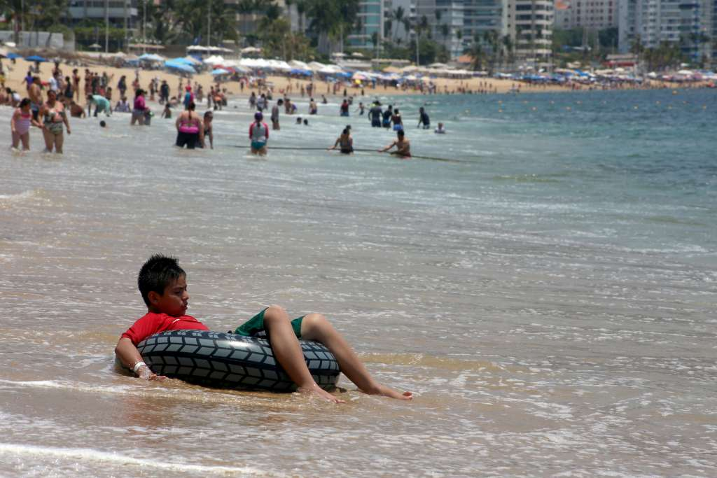 De este viernes 19 de abril al domingo 21, en el puerto se esperan temperaturas calurosas. Foto: Cuartoscuro