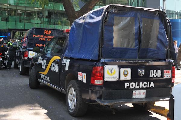 La Secretaría de Seguridad Ciudadana de la CDMX cuenta actualmente con mil unidades. Foto: Cuartoscuro