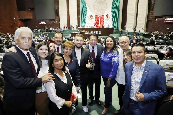 La legisladora de Morena, Yadira Marcos, expresó el