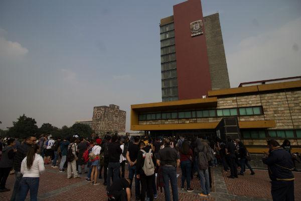 Rodríguez Méndez reiteró la invitación a los académicos de la Asamblea de Profesores para exponer y dialogar. Foto: Cuartoscuro