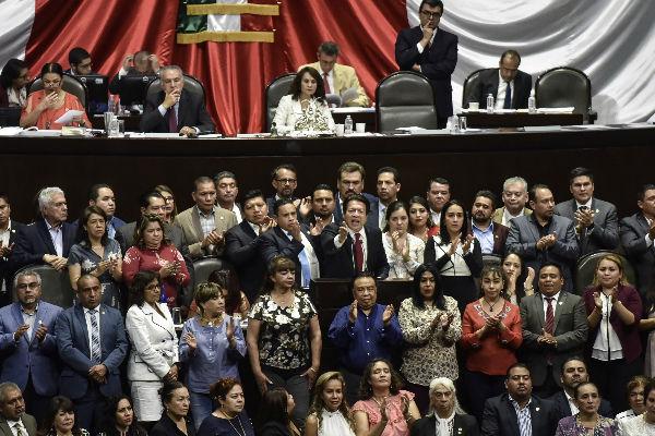 Ocho diputados de Morena votaron en contra de la Reforma Educativa.  Foto: Cuartoscuro