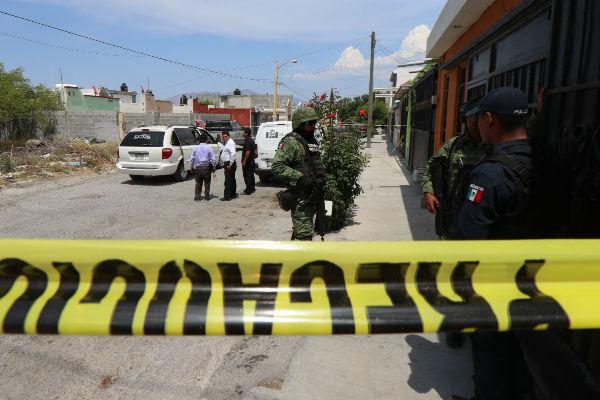 Nueve civiles armados, fueron abatidos en Saltillo tras un enfrentamiento con policías del estado y del municipio. Foto: Cuartoscuro