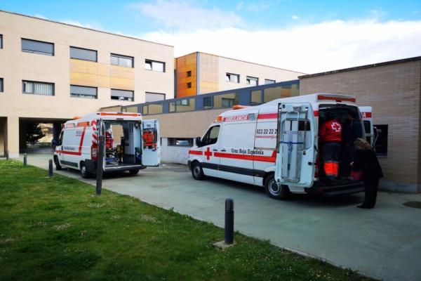 La Cruz Roja dijo que los voluntariosno son parte de ningún conflicto. Foto: Cruz Roja