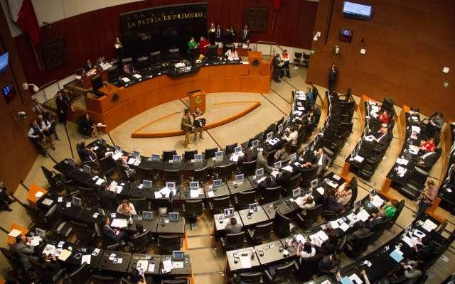 El segundo periodo extraordinario de sesiones del Senado de la república estará en funciones los días 19, 20 y 21 de junio. FOTO: CUARTOSCURO