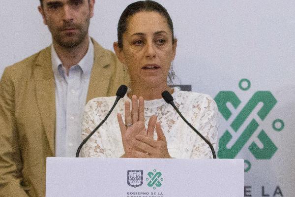 Claudia Sheinbaum, anunció la condonación del 100 por ciento de los adeudos. FOTO: CUARTOSCURO