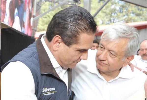 AMLO ofreció alcanzar acuerdos en materia educativa para beneficiar a Michoacán. FOTO: ESPECIAL