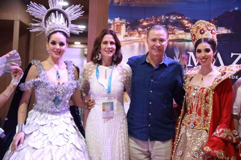 En esta segunda jornada de actividades del Tianguis Turístico, el gobernador Quirino Ordaz logró los primeros resultados al acordar nuevos vuelos con la empresa canadiense Sunwing hacia Mazatlán