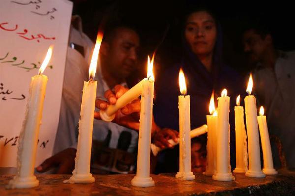 Policía de Sri Lanka anunció el arresto de 13 sospechosos de estar vinculados con los ataques. Foto: EFE
