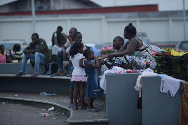 Los migrantes aseguraron que no buscan quedarse en México. Foto: Cuartoscuro