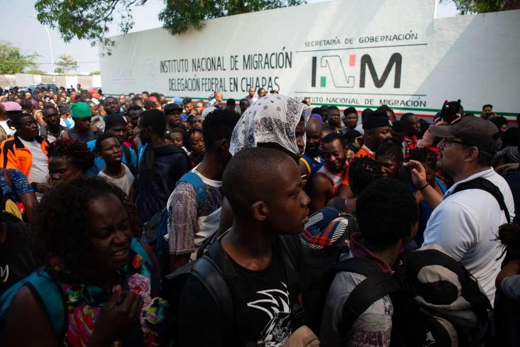 Los migrantes dijeron ser originarios de Cuba y aseguraron estar en espera de ser llevados a EU. Foto: Archivo/ Cuartoscuro