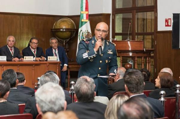 El general debe presentarse este miércoles en el Centro de Justicia Penal Federal, junto con otros ex trabajadores de Pemex. Foto: Especial