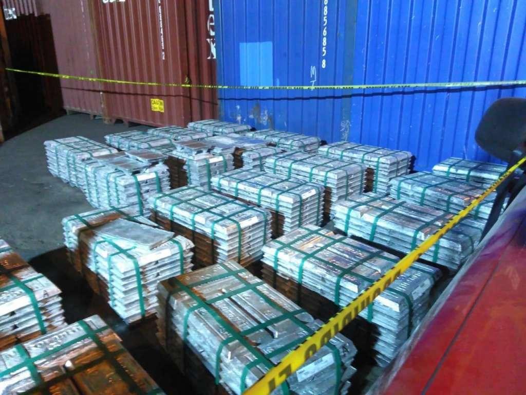 Se trató de un operativo conjunto con Aduana Marítima de Manzanillo y la Semar. FOTO: ESPECIAL