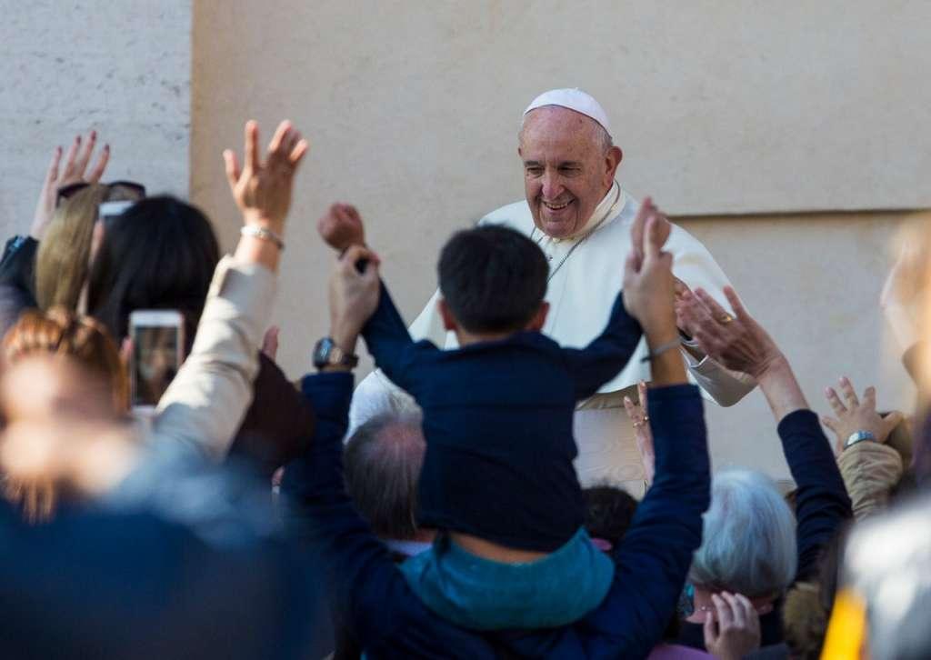 Desde la Plaza de San Pedro, el Papa Francisco relató la Pasión de Cristo. Foto: Pablo Esparza