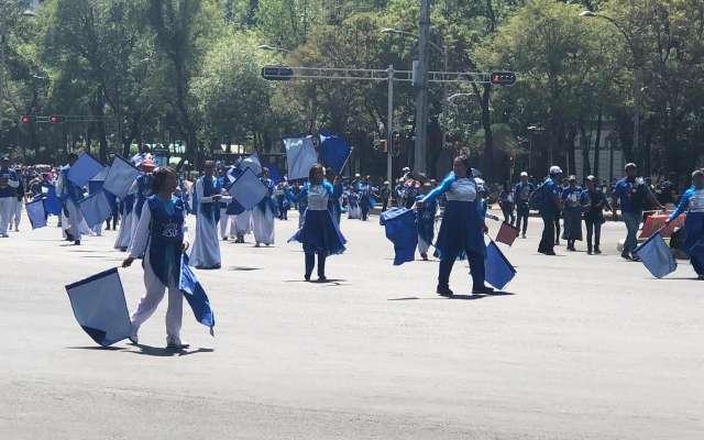 Debido a la procesión, el Metrobús realiza circuitos en las Líneas 1 y 7. Foto: María José Serrano