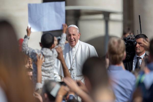 Lo que Dios ha hecho por nosotros, nosotros lo hacemos por nuestro prójimo, dijo el Sumo Pontífice. Foto: Pablo Esparza