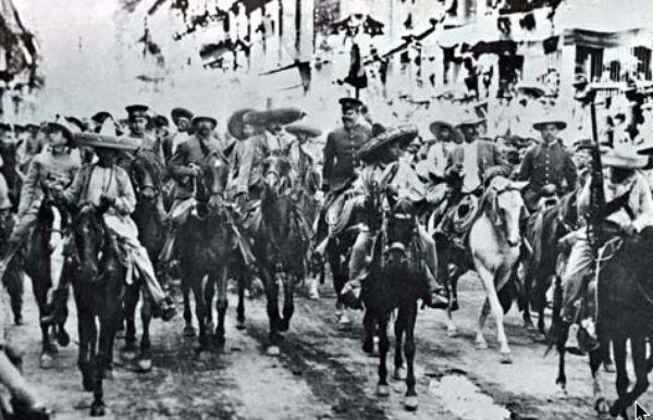 Emiliano Zapata no sólo marcó la historia y memoria de los mexicanos, también lo hizo en edificios públicos, calles e inmuebles de la Ciudad de México durante sus irrupciones militares. FOTO: ESPECIAL