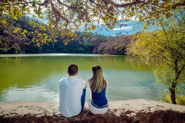 En el volcán de Teremendo se encuentra un lago cratérico que los lugareños llaman La Alberca. Foto: Sectur