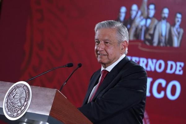 López Obrador durante su conferencia de prensa 29 de abril 2019