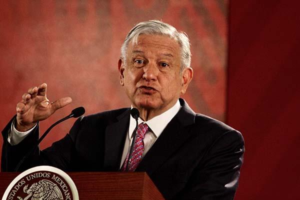 """El presidente Andrés Manuel López Obrador aseveró que """"hay muy buenos resultados"""" en los tres meses que se ha implementado la estrategia contra el robo de combustibles en el país. FOTO: NOTIMEX"""