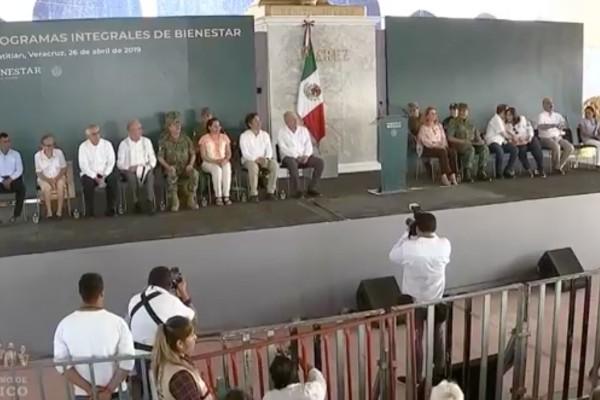 López Obrador presenta programa de Paz y Seguridad. Foto: Especial