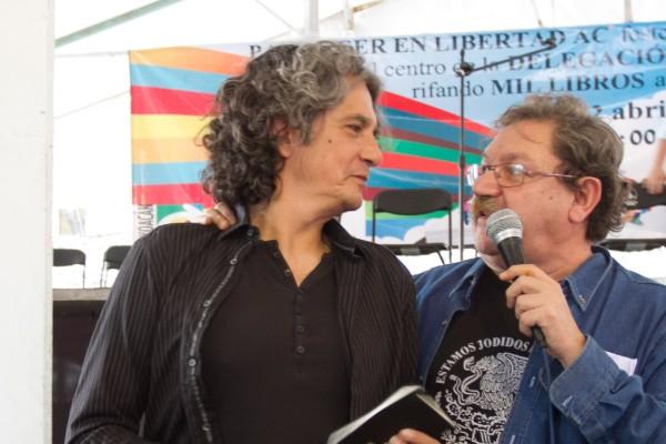 """Velasco mencionó que fue de Vega Gil de quien aprendió el término """"depre"""". Foto: Cuarto Oscuro"""
