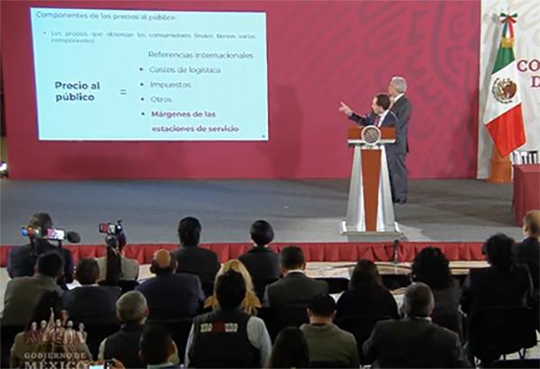Arturo Herrera, subsecretario de Hacienda, en la conferencia mañanera. FOTO: ESPECIAL