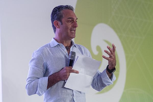 """En el marco del Tianguis Turístico 2019, Carlos Slim Domit, de Grupo Carso, ofreció la conferencia magistral """"La Era de la Conectividad, Disrupción y Retos"""".  FOTO: NOTIMEX"""