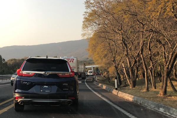 Reporte de tránsito en las carreteras a la ciudad de México