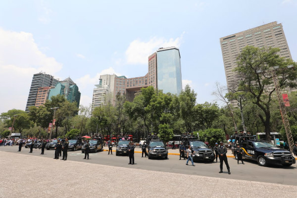 Miguel Hidalgo contará con un estado de fuerza de mil 250 policías de la Secretaría de Seguridad Ciudadana, quienes vigilarán los principales puntos de aforo como el Bosque de Chapultepec, las estaciones del STC Metro, los Parques y los Centros Religiosos