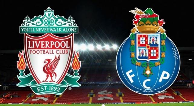 El cotejo de ida entre Liverpool FC y FC Porto iniciará a las 14:00 horas, tiempo del centro de México. FOTO:UEFA