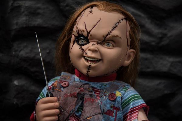 """El próximo mes de Junio el muñeco  diabólico más famoso, regresa a la pantalla, pero esta vez """"Chucky"""" llega equipado con tecnología de punta. Foto: Cuartoscuro"""