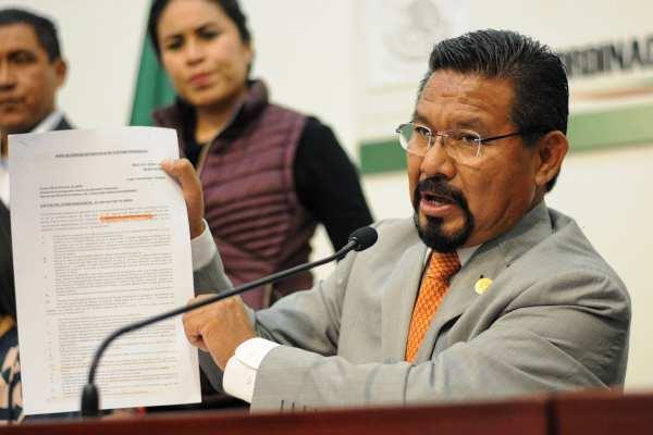 El pasado 26 de marzo laCNHJde Morena suspendió por un año los derechos al legislador Charrez. Foto: Archivo | Cuartoscuro