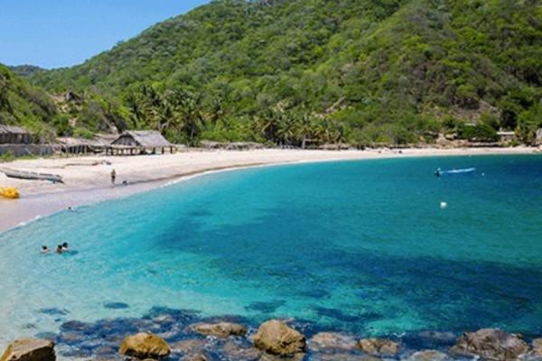 Las playas se encuentran a una corta distancia unas de las otras. Foto: Sectur