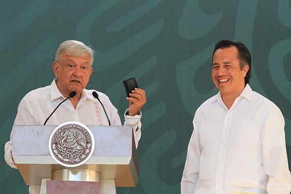 """""""Habrá despliegue de seguridad en Veracruz y se reforzará con más elementos de la Secretaría de Marina y Ejército"""
