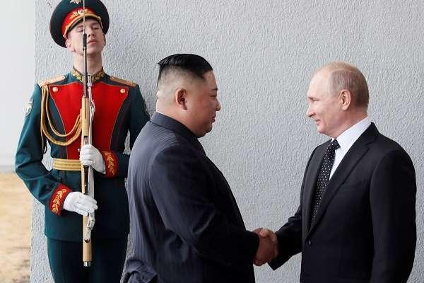 El presidente ruso expresó su deseo de que la visita de Kim