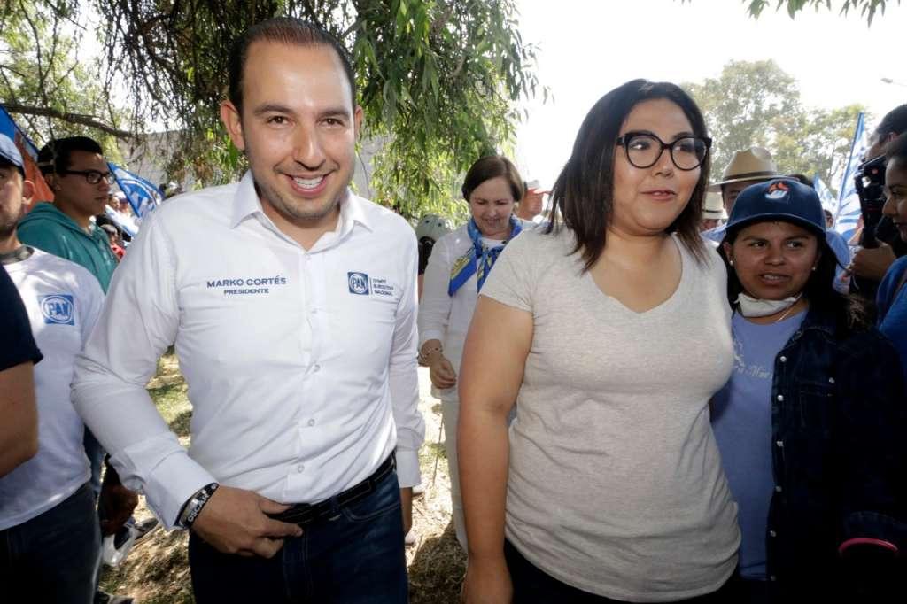 Enfatizó que no tiene acercamiento alguno con el también ex dirigente estatal del PRI, Alejandro Armenta. Foto: Claudia Espinoza