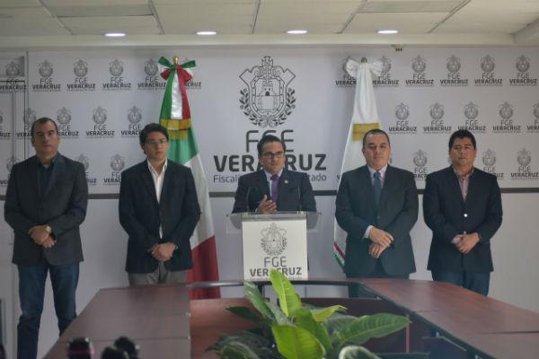 El 5 de marzo el gobernador, Cuitláhuac García Jiménez, rechazó públicamente que existiera un nuevo cártel. Foto: Jesus Ruíz
