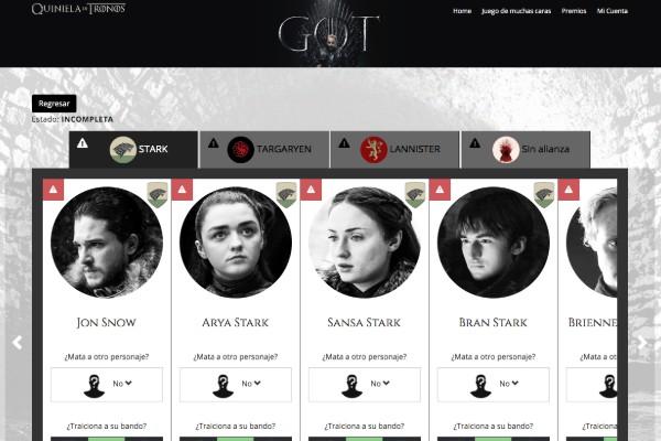 La fecha límite para hacer las apuestas es el 14 de abril, previo al estreno del primer capítulo de última temporada de Game of Thrones. Foto: Especial