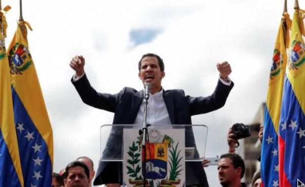 Juan Guaidó señaló que no se prestará a dialogar con Nicolás Maduro. FOTO: ESPECIAL